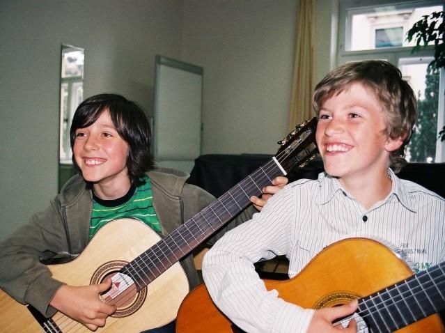 Gitarrenunterricht für Jugendliche
