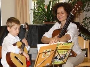 Gitarrenunterricht für Kinder ab 5 Jahren