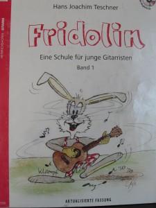 Fridolin Noten für Gitarre